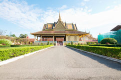 Royal Palace Phnom Penh, Cambodia Royalty Free Stock Images