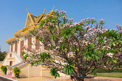 The Royal palace in Phnom Penh Royalty Free Stock Image