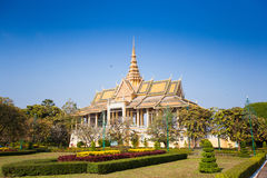 Royal Palace in Phnom Penh Royalty Free Stock Images