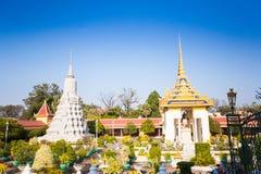 Royal Palace in Phnom Penh Royalty Free Stock Photo