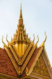 Royal Palace in Phnom Penh in Cambodia Stock Photo