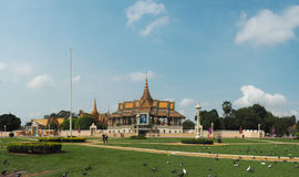 Royal Palace, Phnom Penh, Cambodia. Beautiful Royal Palace in Phnom Penh, Cambodia Stock Photos