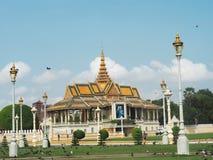 Royal Palace, Phnom Penh, Cambodia Royalty Free Stock Photos