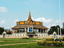 Royal Palace, Phnom Penh, Cambodia Royalty Free Stock Images