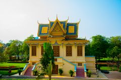 The Royal palace in  Phnom Penh, Cambodia. Stock Image