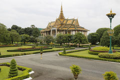 Royal Palace, Phnom Penh, Cambodia Royalty Free Stock Photos