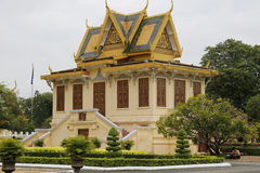 Royal Palace, Phnom Penh, Cambodia Royalty Free Stock Photo
