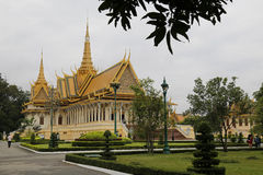 Royal Palace, Phnom Penh, Cambodia Royalty Free Stock Image