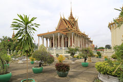 Royal Palace, Phnom Penh, Cambodia Stock Photo