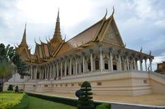 Royal palace in Phnom Penh, Cambodia Stock Photography