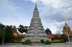 Royal palace in Phnom Penh, Cambodia Royalty Free Stock Image