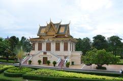 Royal palace in Phnom Penh, Cambodia Royalty Free Stock Photo