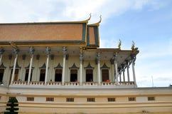 Royal palace in Phnom Penh, Cambodia Stock Images