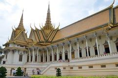 Royal palace in Phnom Penh, Cambodia Stock Photos