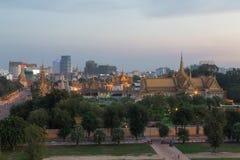 Royal Palace in Phnom Penh, Cambodia Royalty Free Stock Images