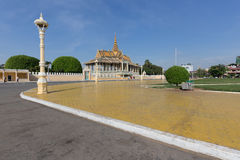 Royal Palace in Phnom Penh, Cambodia Stock Image