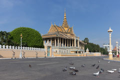 Royal Palace in Phnom Penh, Cambodia Stock Images