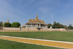 Royal Palace in Phnom Penh, Cambodia Royalty Free Stock Photography