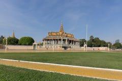 Royal Palace in Phnom Penh, Cambodia Royalty Free Stock Photography