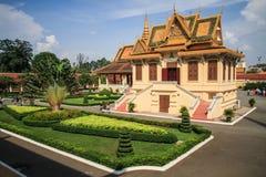 Royal Palace, Phnom Penh, Cambodia Stock Images