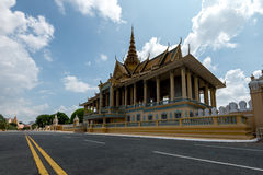 Royal Palace Phnom Penh Cambodia Sep 2015 Royalty Free Stock Images