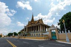 Royal Palace Phnom Penh Cambodia Sep 2015 Royalty Free Stock Photo