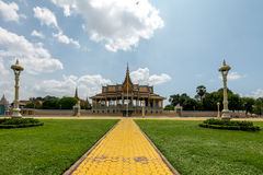 Royal Palace Phnom Penh Cambodia Sep 2015 Stock Image