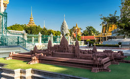 Royal Palace, Phnom Penh, Cambodia. Royal Palace / Silver Pagoda, Phnom Penh, Cambodia Stock Photos