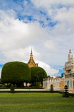 The Royal Palace, Phnom Penh, Cambodia Royalty Free Stock Photos