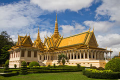 The Royal Palace, Phnom Penh, Cambodia Stock Images
