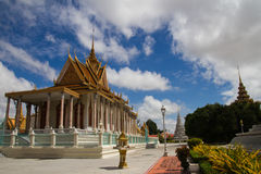 The Royal Palace, Phnom Penh, Cambodia Royalty Free Stock Photo
