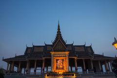Royal Palace Phnom Penh, Cambodia Royalty Free Stock Photo