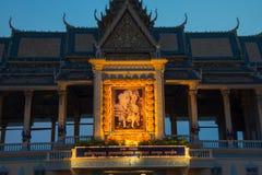 Royal Palace Phnom Penh, Cambodia Royalty Free Stock Photography