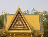Royal Palace Phnom Penh, Cambodja Arkivfoton