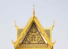 Royal Palace Phnom Penh, Cambodja Royaltyfri Fotografi