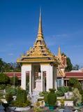 Royal Palace a Phnom Penh, Cambogia Fotografie Stock Libere da Diritti