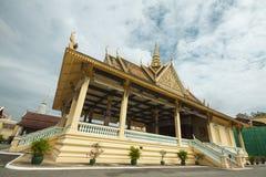Royal Palace - Phnom Penh, Cambogia, Asia Fotografia Stock Libera da Diritti