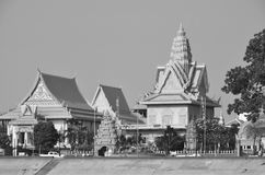 The Royal Palace. PHNOM PENH CAMBOGIA MARCH 22: The Royal Palace is a complex of buildings which serves as the royal residence of the king of Cambodia. On march Stock Photo