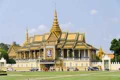 Royal Palace, Phnom Penh Royalty Free Stock Photos