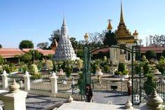 Royal Palace in Phnom Penh. Royal Palace in the capital of Cambodia Stock Photos