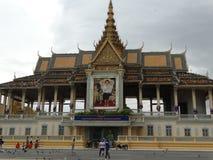 Royal Palace, Phnom Penh - capital de Camboya Imagen de archivo