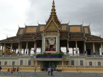 Royal Palace, Phnom Penh - Capital Of Cambodia Stock Image