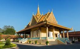 Royal Palace, Phnom Penh, Kambodscha Lizenzfreie Stockfotografie
