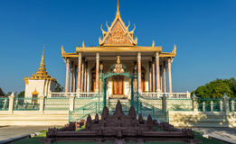 Royal Palace, Phnom Penh, Kambodscha Lizenzfreie Stockfotos