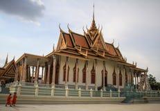 Royal Palace, Phnom Penh, Kambodscha Stockbilder