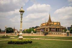 Royal Palace, Phnom Penh, Kambodscha Lizenzfreies Stockbild