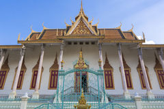 Royal Palace in Phnom Penh. Khmer architecture, Cambodia Stock Image