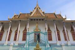 Royal Palace in Phnom Penh. Khmer architecture, Cambodia Stock Image
