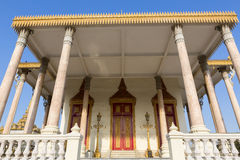 Royal Palace in Phnom Penh. Khmer architecture, Cambodia Royalty Free Stock Photo