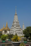 Royal palace of phnom penh pagoda Stock Photo